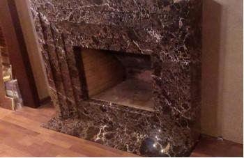 камин из мрамора в СПб