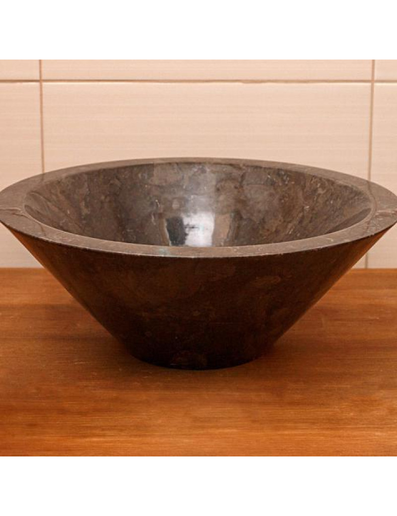 Раковина из мрамора Banglo Vase Black