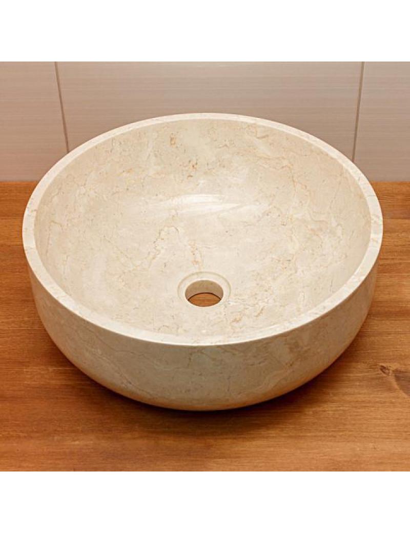 Раковина из мрамора Banglo Cup Cream Kecil