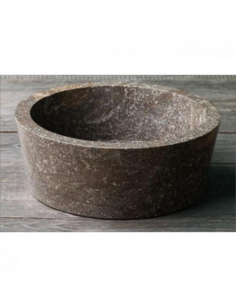 Раковина из мрамора Drum Grey Kecil