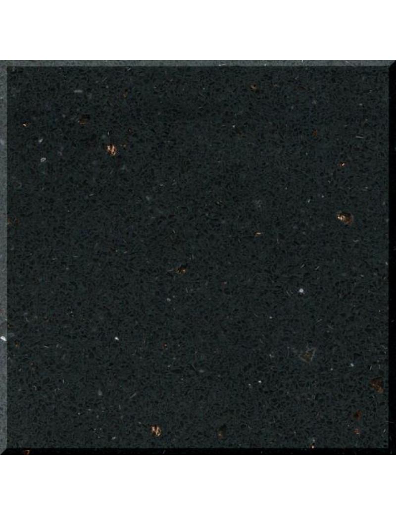 Кварцевый агломерат FB 991 Ferio Black Samsung Radianz