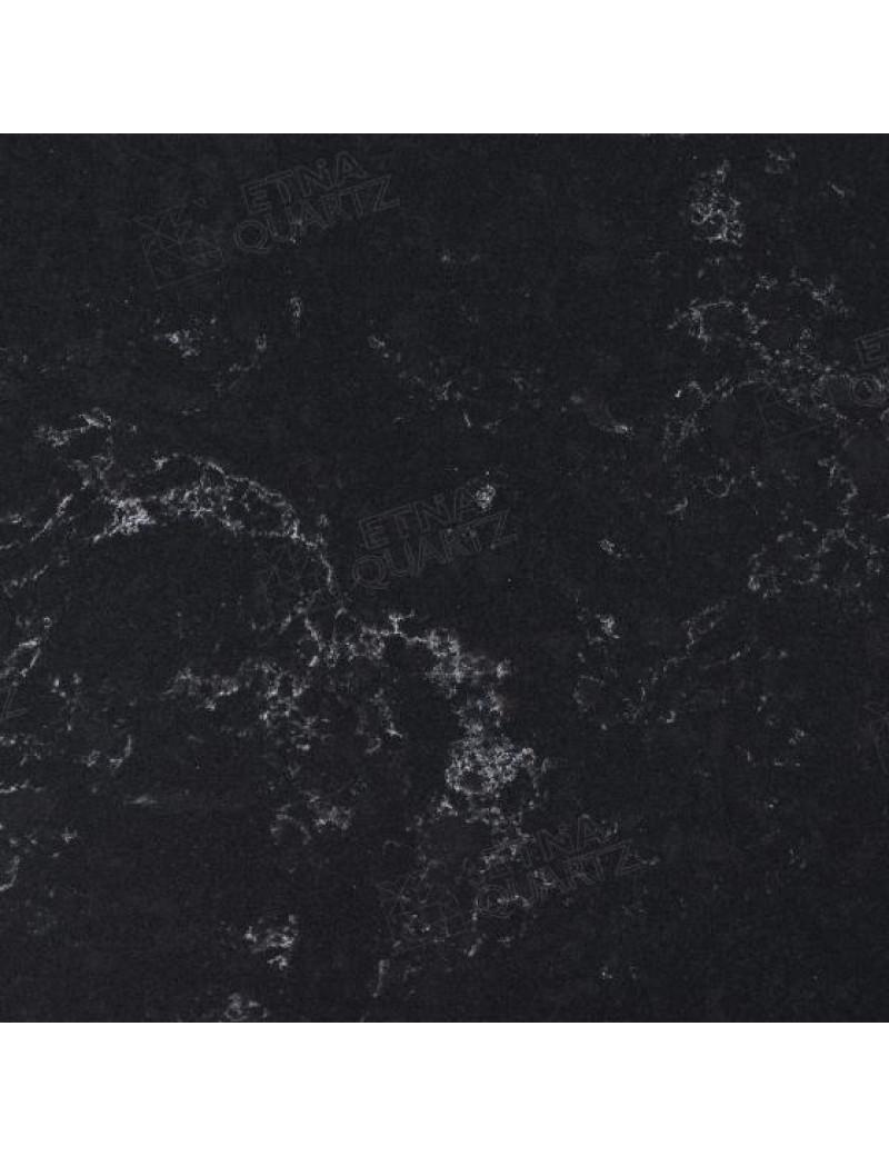 Кварцевый агломерат EQPM 028 Black Perlino